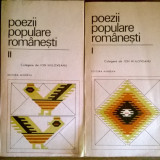 Ion Nijloveanu – Poezii populare romanesti {2 volume}