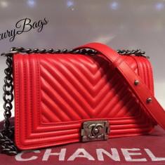 Genti Chanel Le Boy Selected Collection 2016 * LuxuryBags * - Geanta Dama Chanel, Culoare: Din imagine, Marime: Masura unica, Geanta de umar, Piele