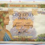 76. FRANTA 500 FRANCS FRANCI 26.06.1941 SR. 182, Europa