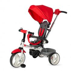 Tricicleta pliabila Coccolle Urbio rosu - Tricicleta copii Coccolle, Unisex