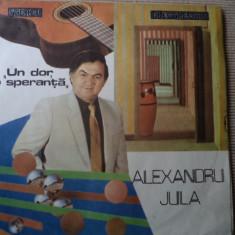 Alexandru Jula Un Dor O Speranta disc vinyl lp Muzica Pop electrecord usoara romaneasca, VINIL