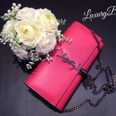 Clutch Yves Saint Laurent Classic Monogram * LuxuryBags * - Geanta Dama Yves Saint Laurent, Culoare: Din imagine, Marime: Masura unica, Geanta plic, Piele