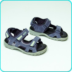 DE FIRMA → Sandale PIELE, comode, aerisite, usoare, calitate ECCO → fete | nr 29 - Sandale copii Ecco, Culoare: Mov, Piele intoarsa