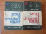 z1 VIRGILIU ENE - SATIRA IN LITERATURA ROMANA 2 Volume STUDIU SI ANTOLOGIE