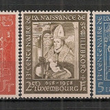 Luxemburg.1958 1300 ani nastere Sf.Willibrord CL.137 - Timbre straine, Nestampilat