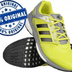 Adidasi barbat Adidas Revenge Boost Techfit 2 - adidasi originali - alergare - Adidasi barbati, Marime: 41 1/3, Culoare: Din imagine, Textil