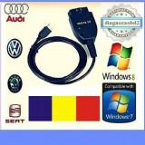 Tester  diagnoza auto VAG.COM VCDS 15.7  in limba Romana, maghiara, engleza