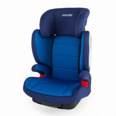 Scaun auto cu Isofix 15-36 kg Coccolle Exo Fix albastru - Scaun auto copii Coccolle, 2-3 (15-36 kg), In sensul directiei de mers