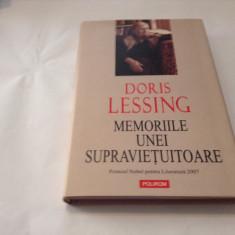 Doris Lessing - Memoriile unei supravietuitoare ,RF7/1