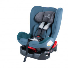 Scaun auto 0-18 kg DhsBaby Voyage albastru - Scaun auto copii DHS Baby, 0-1 (0-18 kg), In sensul directiei de mers, Isofix