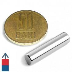 Magneti neodim puternici cilindri 6x25 mm experimente magnetice neodymium