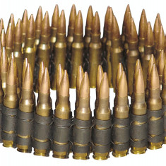 Diverse Bullet Belt - Cu Varfuri de Bronz