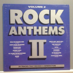 ROCK ANTHEMS - 24 ROCK HITS 2LP SET(1986/ K-TEL REC /RFG) - Vinil/ROCK/IMPECABIL - Muzica Rock universal records