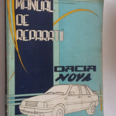 MANUAL DE REPARATII MR 523 , DACIA NOVA