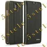 Husa Rock Flip Stand Elite Samsung Galaxy Note 3 N9005 Negru, Alt model telefon Samsung, Piele Ecologica