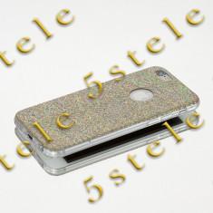 Husa Ultra Slim POPI Apple iPhone 5/5S Gold - Husa Telefon, iPhone 5/5S/SE, Auriu