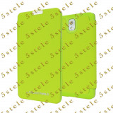 Husa Mercury Techno Flip Samsung Galaxy Note3 N9005 Lime Blister