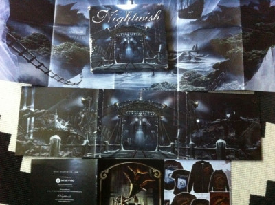 Nightwish Imaginaerum dublu disc 2 cd muzica heavy metal poster nuclear blast foto