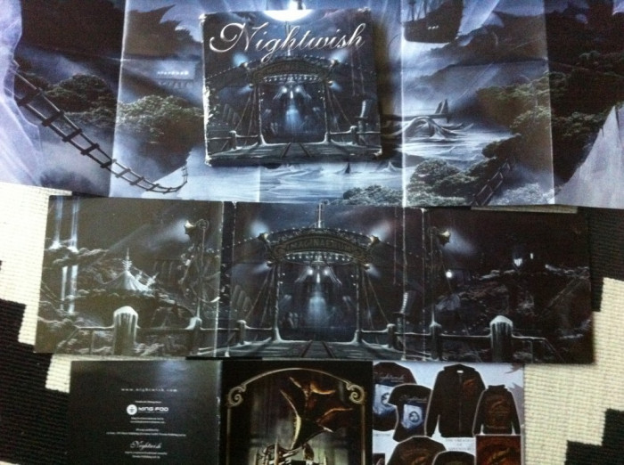 Nightwish Imaginaerum dublu disc 2 cd muzica heavy metal poster nuclear blast