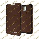 Husa Mercury Techno Flip Samsung Galaxy Note3 N9005 Brown Blister