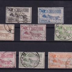 ROMANIA 1903 ,  LP 55 ,  CAISORII  SERIE STAMPILATA, Stampilat