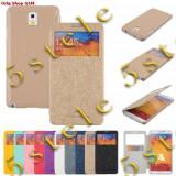Husa Mercury window Samsung Galaxy Note3 N9005 Gold Blister