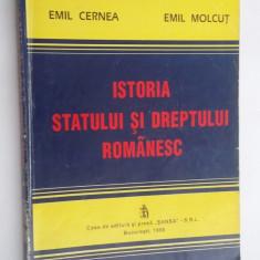 ISTORIA STATULUI SI DREPTULUI ROMANESC - CERNEA,MOLCUT .