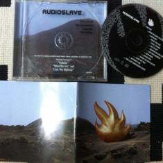Audioslave album cd disc muzica alternativ hard rock epic sony foto texte 2002 - Muzica Rock sony music