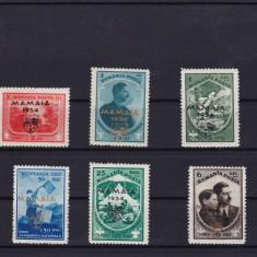 ROMANIA 1934, LP 107, JAMBOREEA MAMAIA, SERIE CU SARNIERA, LOT 2 RO - Timbre Romania, Nestampilat