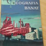 V. GHIBEDEA--GEOGRAFIA REGIUNII BANAT - 1962 - Carte Geografie