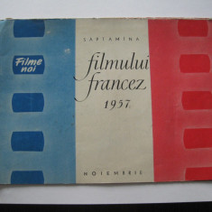 Film / Cinema - Zilele filmului francez (noiembrie 1957)