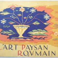 L'ART PAYSAN ROUMAIN - Carte Fabule