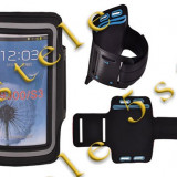 Husa Pentru Mana Samsung Galaxy S3 i9300 / S4 i9500 Negru - Husa Telefon