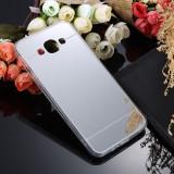 Husa Samsung Galaxy S3 i9300 TPU Mirror Silver, Gri, Gel TPU