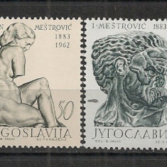 Iugoslavia.1963 Sculptura CI.594 - Timbre straine, Nestampilat