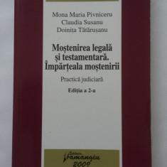 MOSTENIREA LEGALA SI TESTAMENTARA IMPARTEALA MOSTENIRII EDITIA A 2 A - Carte Jurisprudenta