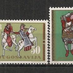 Iugoslavia.1963 Arta CI.595 - Timbre straine, Nestampilat
