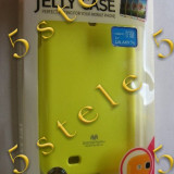 Husa Mercury Jelly Samsung Galaxy S4 i9500 Lime Fluorescent - Husa Telefon