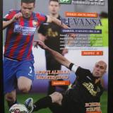 Program Liga Profesionista de Fotbal (nr.20 Steaua - ASA Tg.Mures)august 2015