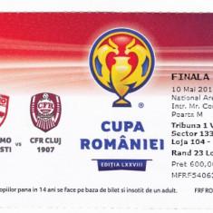 Bilet meci DINAMO BUCURESTI - CFR CLUJ (finala Cupa Romaniei 10.05.2016)