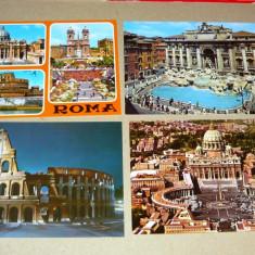Lot 4 vederi - oras - Roma - pitoresc - turism - 2+1 gratis - RBK16032, Ambele, Europa