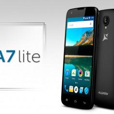 Telefon Allview A7 Lite 8GB Dual Sim negre sigilate / garantie / lb romana, Negru, Neblocat