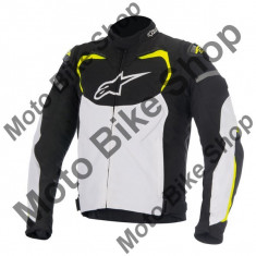 MBS Geaca textila Alpinestars T-Gp Pro, negru/alb, M, Cod Produs: 3305016125MAU - Imbracaminte moto Alpinestars, Geci