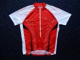 Tricou ciclism Loffler Austria ¾ Zip; marime XXL (56), vezi dimensiuni; ca nou, Tricouri