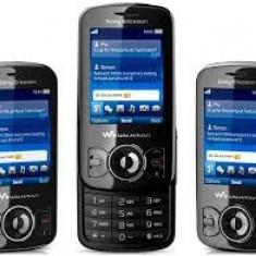 Sony-Ericsson w100 reconditionat, Negru, Nu se aplica, Neblocat