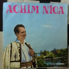Achim nica disc single vinyl Muzica Populara electrecord banateana romaneasca folclor banat, VINIL