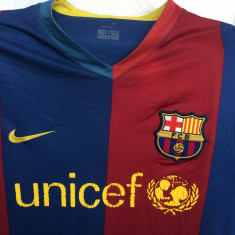 Tricou fotbal NIKE FC.BARCELONA- SPANIA CAMPIONAT - Set echipament fotbal Nike, Marime: M