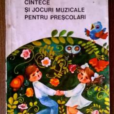 Ana Motora Ionescu - Cantece si jocuri muzicale pentru prescolari - Carte poezie copii