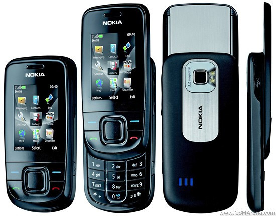 Telefon mobil Nokia 3600 slide negru