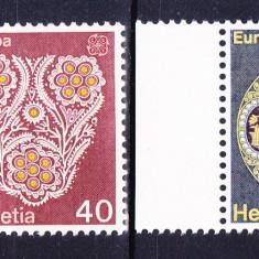 Timbre ELVETIA 1976 = TIMBRE EURO - ARTIZANAT, MNH - Timbre straine, Nestampilat